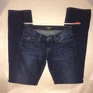 Lucky Brand Jeans Riley Dark Denim Low Rise 0 / 25